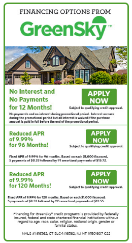 GreenSky Financing Program